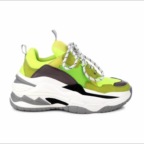 Cape Robbin Shoes | Lime Green Chunky